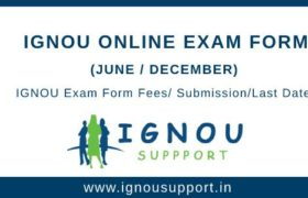 IGNOU Online Exam Form