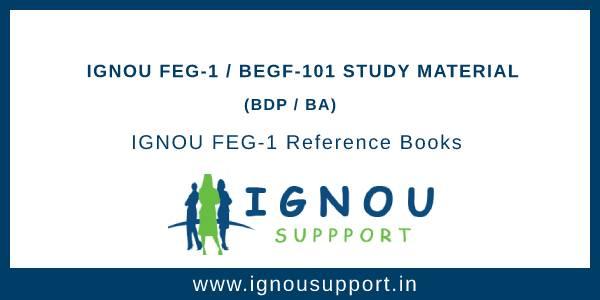 Ignou FEG-1 Study Material
