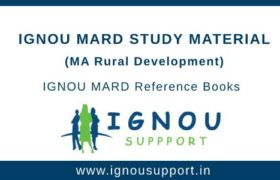 Ignou MARD Study Material