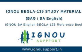 IGNOU BEGLA-135 Study Material